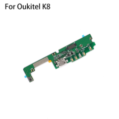Oukitel K8 New Original usb plug charge board  Mobile Phone Flex Cables charging module cell phone Mini USB Port