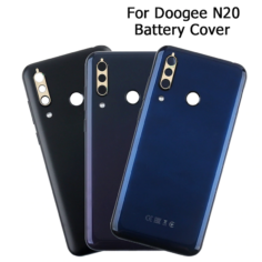 Doogee N20 Battery Cover Protective Battery Back Cover  6.3'' For Doogee N20 Battery Cover Phone Accessories