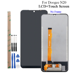 Doogee N20 LCD Display And Touch Screen Digitizer Assembly Replacement With Tools + Adhesive For Doogee N20​ Phone
