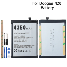 Doogee N20 Battery 4350mAh High Capacity Long Standby Time With Tools For Doogee N20 Battery Phone Accessory