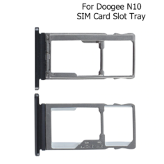 Doogee N10 SIM Card Tray Holder Replacement Parts Adapter Socket For Doogee N10 Phone SIM Card SD Slot Tray Holder
