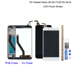 Huawei Honor 6A DLI-TL20 DLI-AL10 LCD Display and Touch Screen +Frame Assembly For Huawei Honor 6A Pro LCD +Tools