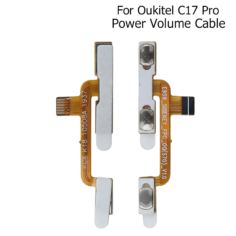 Oukitel C17 Pro Power Volume Cable Replacement Parts For Oukitel C17 Pro  Power Volume Cable Phone Accessories